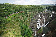 Spectacular Barron Falls Station Lookout