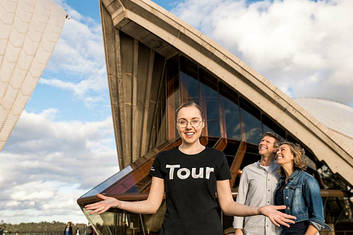 Join us for a tour of the Sydney Opera House