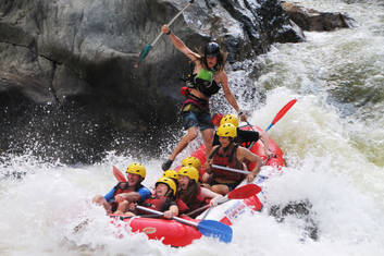Rafting on the Barron River