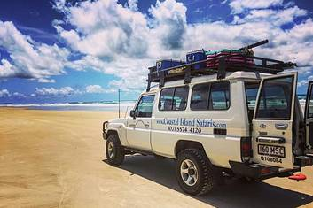 4WD Beach Safari - North Stradbroke Island