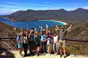 Great Views from Wineglass Bay Lookout