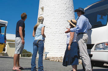 Base of Wadjemup Lighthouse Rottnest Island