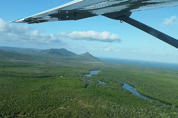 Flight over Daintree from Cooktown