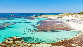 Bay on rottnest island