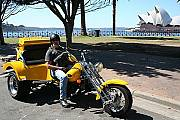 Troll Trike with Opera House and Harbour view.