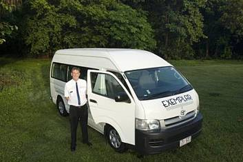 Cairns Airport to or from Cairns City (CBD) - 13 Seat Private Transfer (per vehicle)