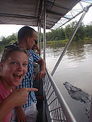 Mary River Croc cruise