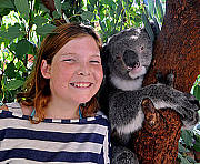 A Koala can Smile too