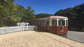 Train on Rottnest Island