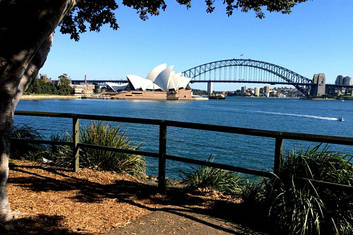 Postcard Views of the Opera House & Harbour Bridge