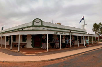 The famous Birdsville Pub