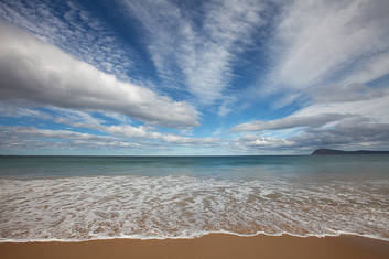 One of the many beautiful beaches on offer at Bruny Island