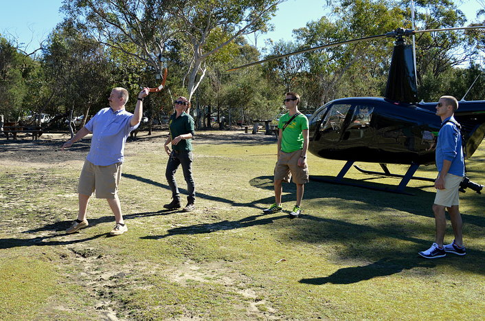 Aussie Bush and Wildlife Helicopter Tour