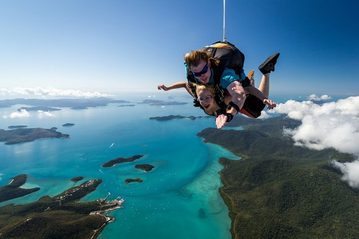 Skydive Airlie Beach #1