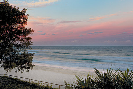 Scenic southern beaches
