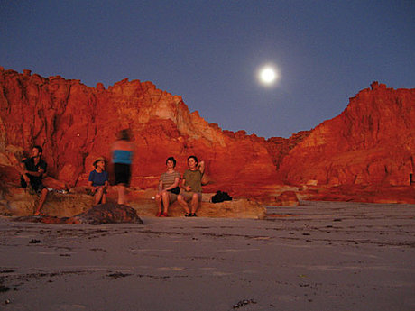 Moonrise over Cape Leveque