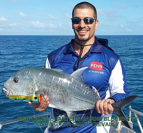 Bluewater (Reef) Fishing for Giant Trevally