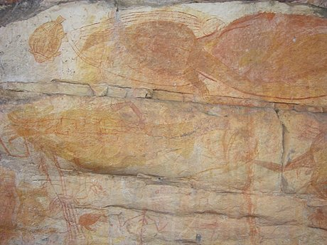 Kakadu tour aboriginal rock art