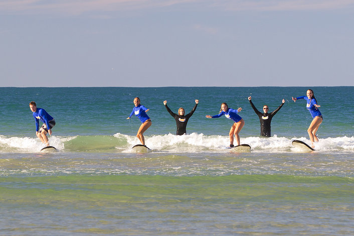 Yes we are surfing