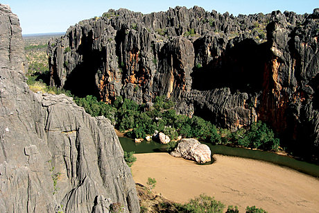 Rugged Windjana Gorge