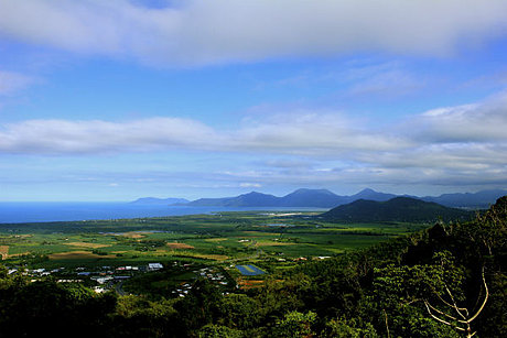Henry Ross lookout in the Wet Tropics World Heritage Area