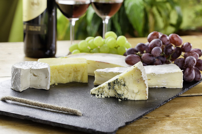 Sample some award winning cheese at Bruny Island Cheese Company.