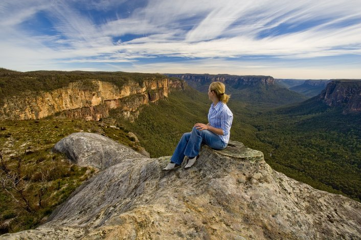 Blue Mountains - Mt Hay Lookout, Chris Jones, Destination NSW