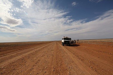 On the Birdsville Track