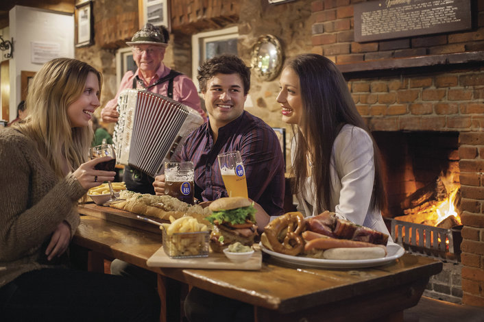 Immerse yourself in the german heritage at Hahndorf