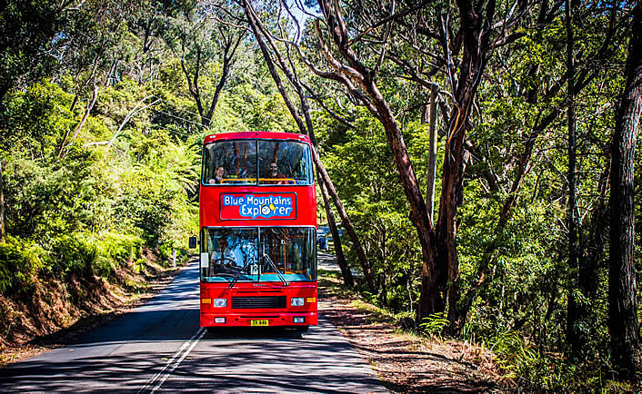 Blue Mountains Explorer Bus