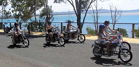 Scootaroo MINI Harley Davidson Tour (optional)