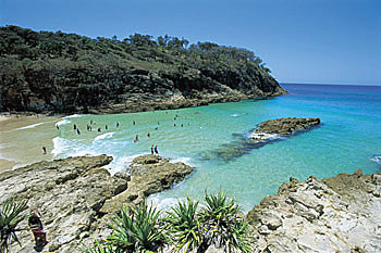 Stradbroke Island - South Gorge
