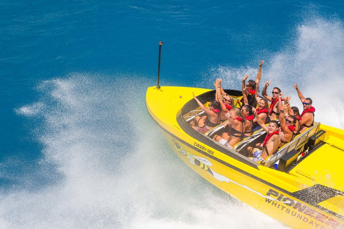 Jet Boat Airlie Beach
