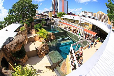 Located in the heart of Darwin City over 3 levels and an entire city block
