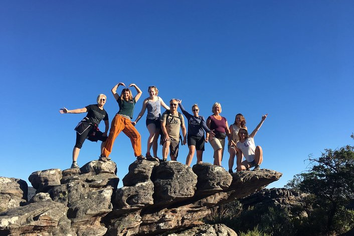 Group in the Grampians National Park