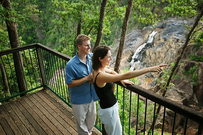 Skyrail's Barron Falls Lookout