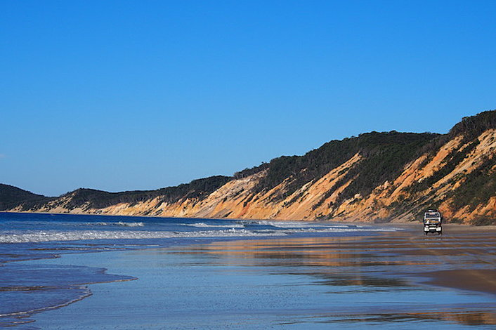 How Long From Noosa To Fraser Island