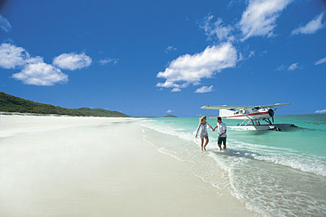 Absolute privacy to explore Whitehaven Beach