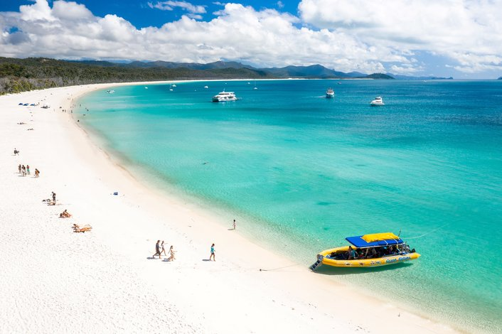 Southern End of Whitehaven Beach