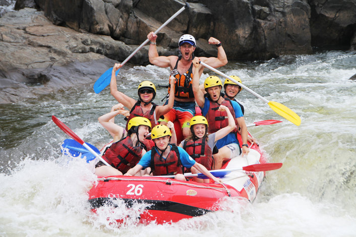 Rafting the Barron river