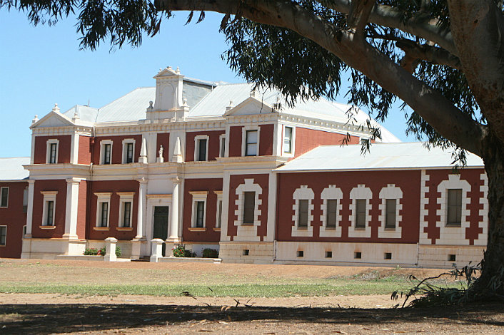 New Norcia Gallery and Museum - built as St Josephs School