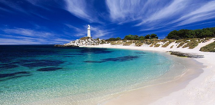 Wadjemup Lighthouse Rottnest Island Perth's Island Playground