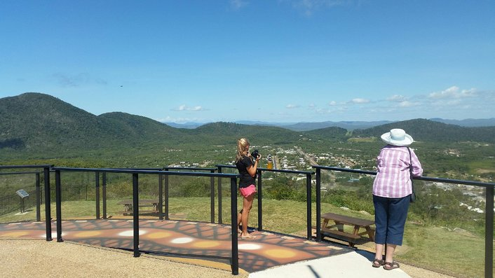 spectacular views from Grassy Hill