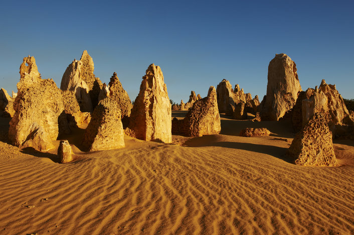 The Pinnacles in the Nambung National Park, Cervantes,