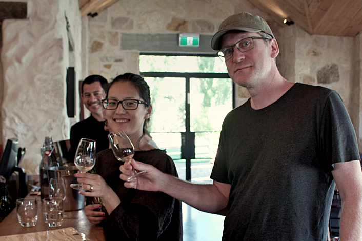 Tasting cool-climate wines in the Southern Highlands
