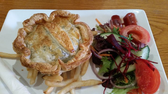 Homemade Pies at Flinders Bakehouse Cafe