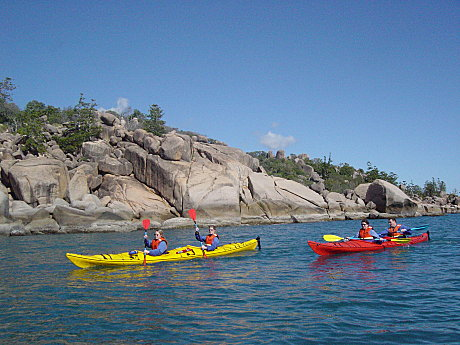 Discover the National & Marine Park from the quiet of your kayak