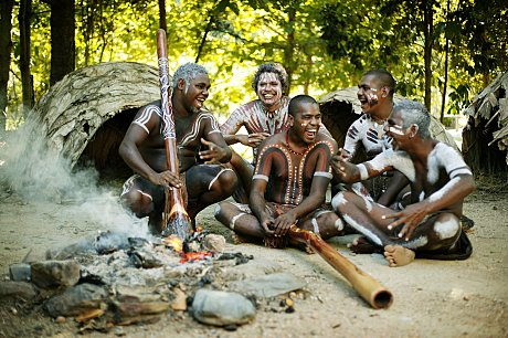 Experience the culture of the People of the the Rainforest - the Tjapukai
