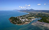 Coral sea coast from Port Douglas