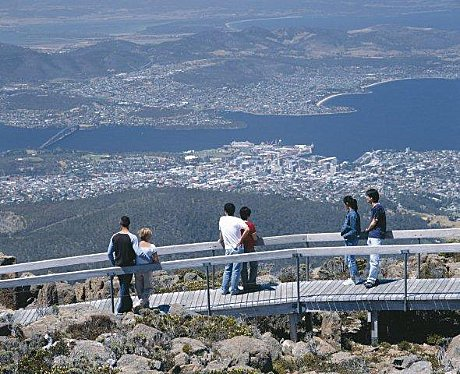 GREAT VIEWS FROM FROM MT WELLINGTON